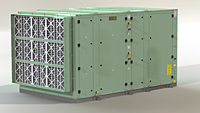 DCA 14000T air cooled only Intake