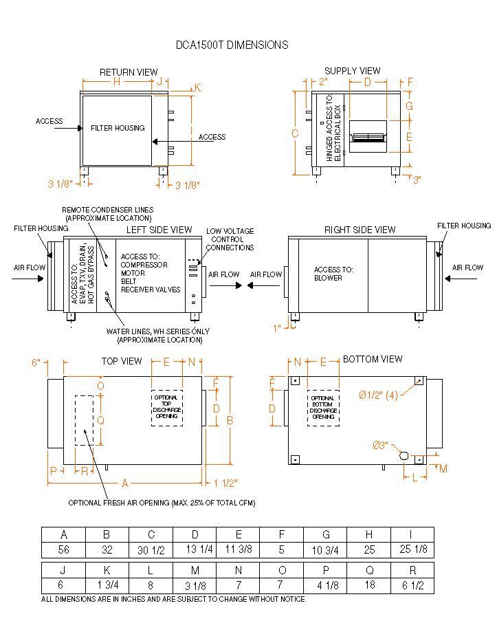 model dca1500t non water heating assist dehumidifier on rh dehumidifiers dehumidifiercorp com Hayward Pool Pump Wiring Diagram Pool Wiring Code Diagrams
