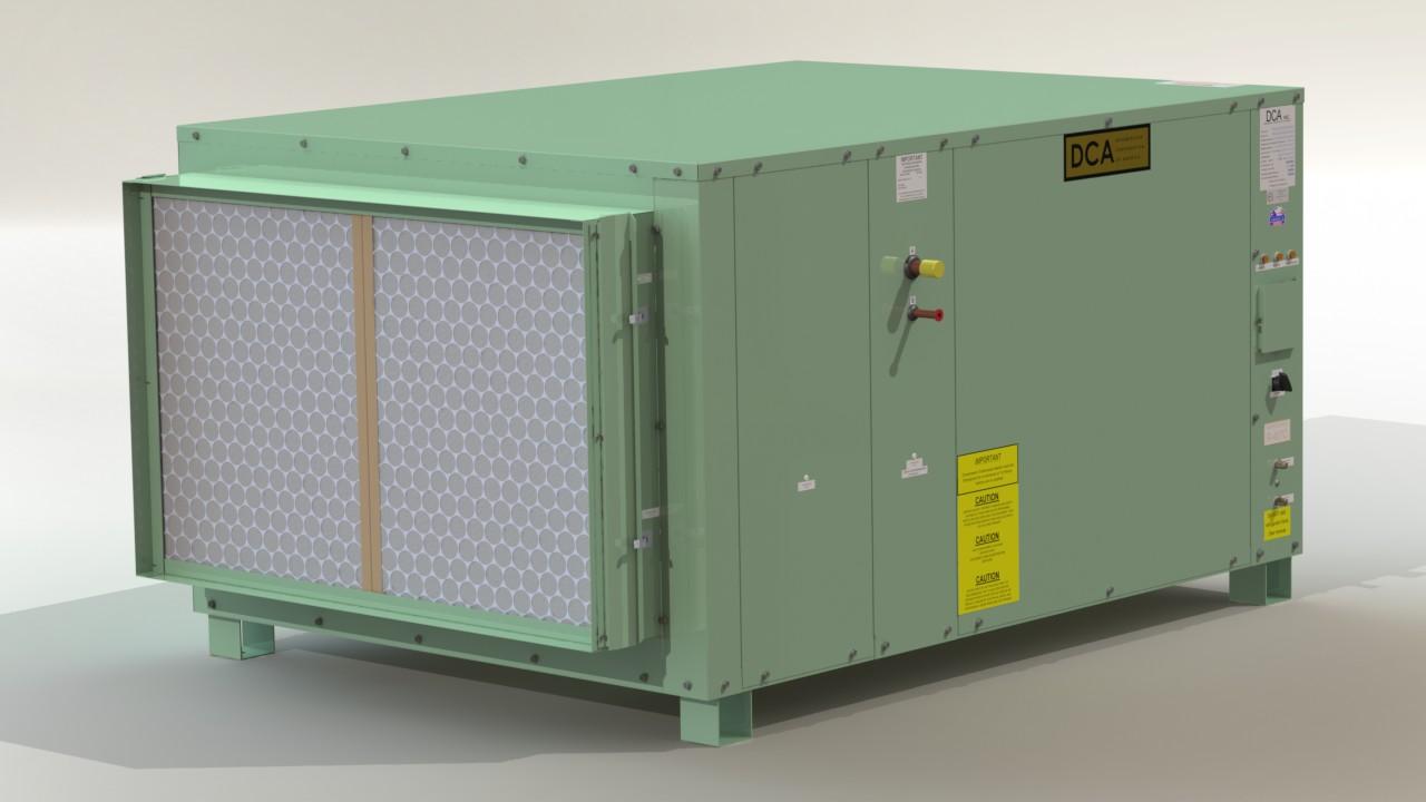 DCA 3000T Discharge · DCA 3000T Intake ...